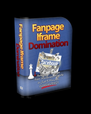 Product picture Fan Page i-Frame Domination Software